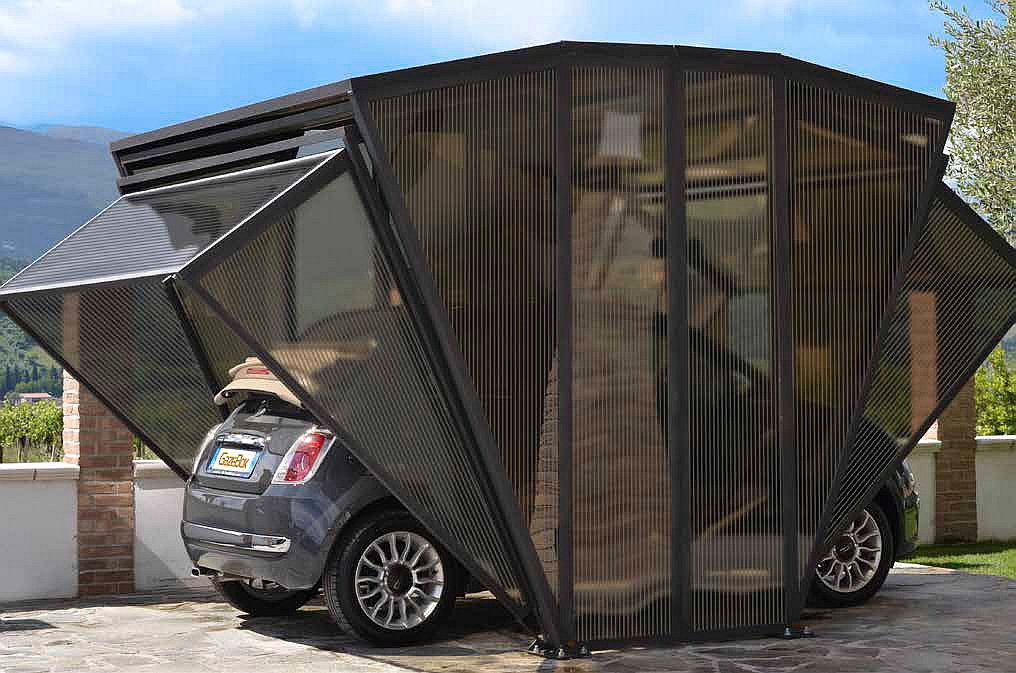 A Foldable Garage Or Something Entirely Different Living