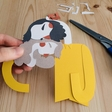 Crafting family portraits with paper