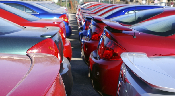 Silver cars are most susceptible to minor damage