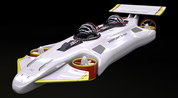 This could be a Formula 1 race car. It's just that it's not.