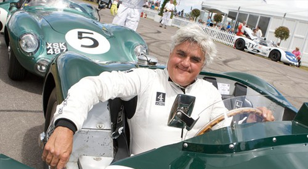 130 shades of Jay Leno's cars