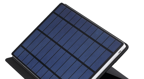 Size does matter: solar-charge all your iStuff and more
