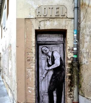 Creative playground amidst the Parisian streets