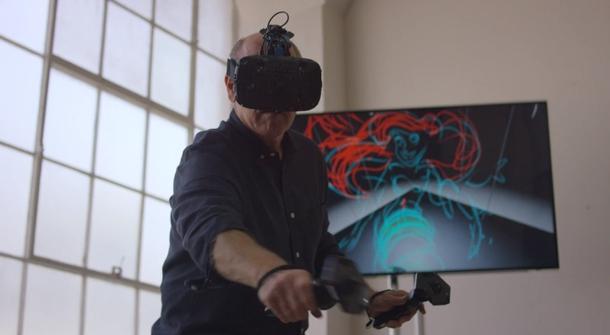 VIDEO: Disney animator Glen Keane draws Ariel in 3D