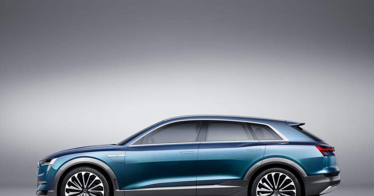 Audi S Electric Car Set For 2018 Driving Plugin