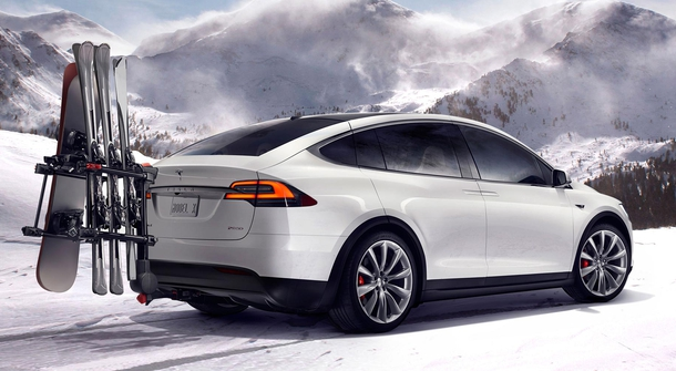 Introducing the brand new Tesla X