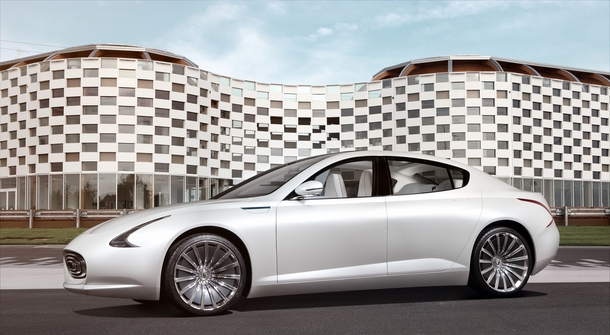 Thunder Power Sedan - the electric sedan for your future