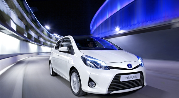 The 200,000th hybrid Toyota Yaris