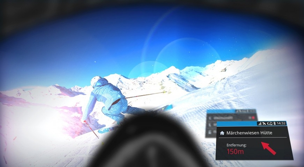 Smart Ski Goggles: Ski amadé looks to the Future