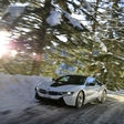 BMW i8: Electric snow