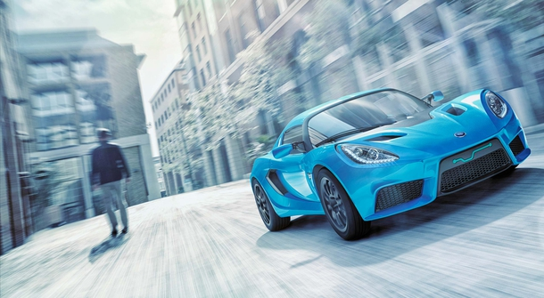 Detroit Electric SP:01 now on the roads of Baku