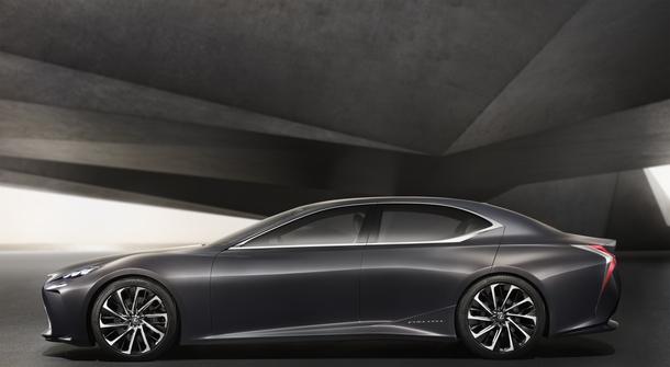 Lexus future fuel cell flagship