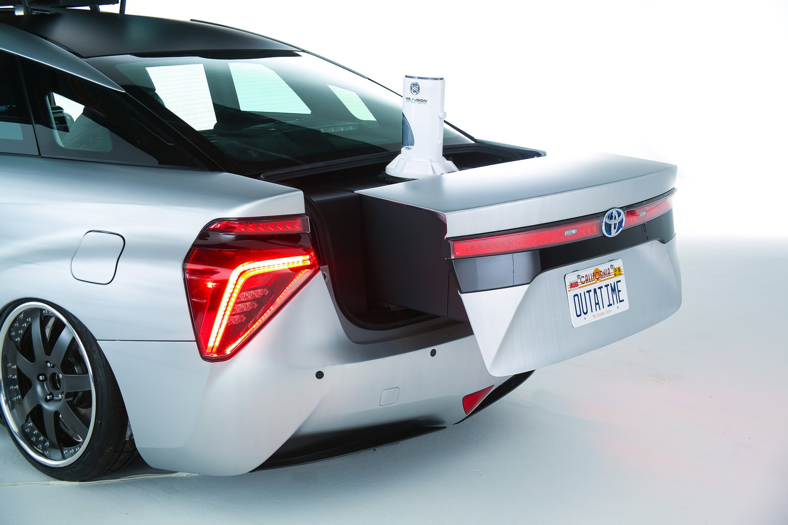 Toyota Mirai Goes Back To The Future Driving Plugin