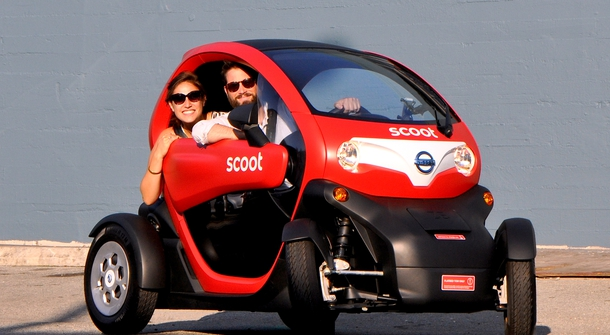 Nissan Scoot Quad - Renault Twizy for San Francisco