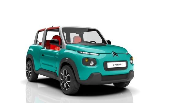 Citroën E-Mehari - Mehari's electric reincarnation