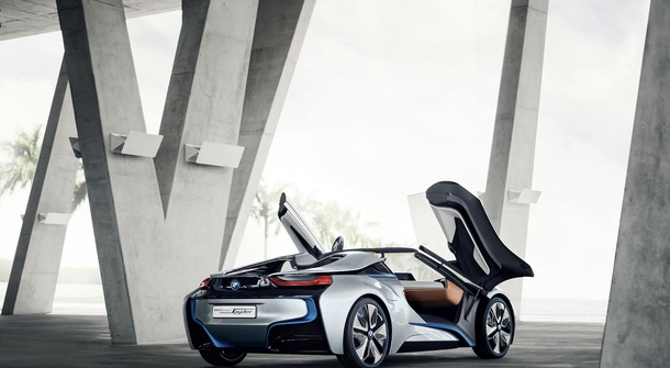 BMW's i8 Spyder concept will become reality