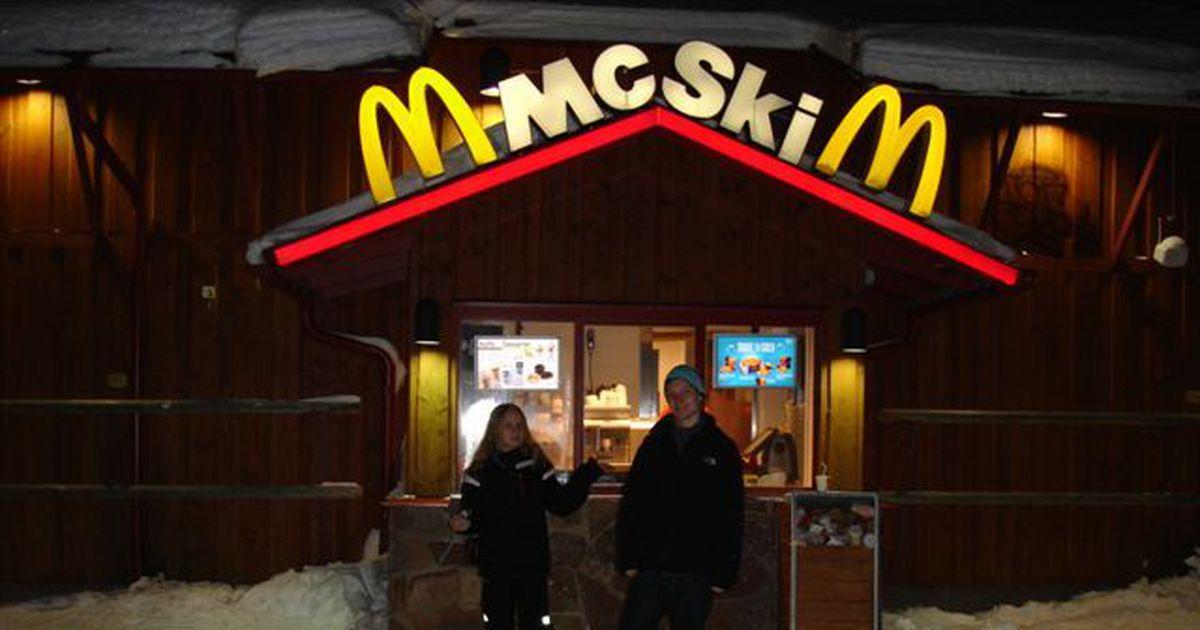Mcski Mcdonald S On A Ski Slope Living Plugin