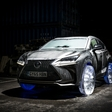 Lexus NX equipped with 'the coolest' wheels