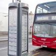 London bus stops get interactive with e-paper