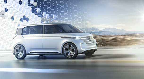BUDD-e, Volkswagen's new electric minivan