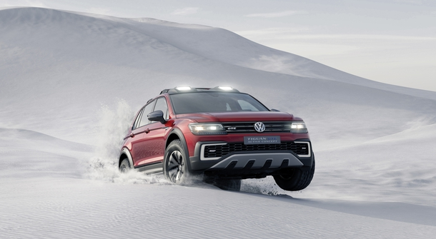 The versatile, off-road Volkswagen Tiguan GTE