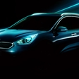 Kia Niro featured on first official images