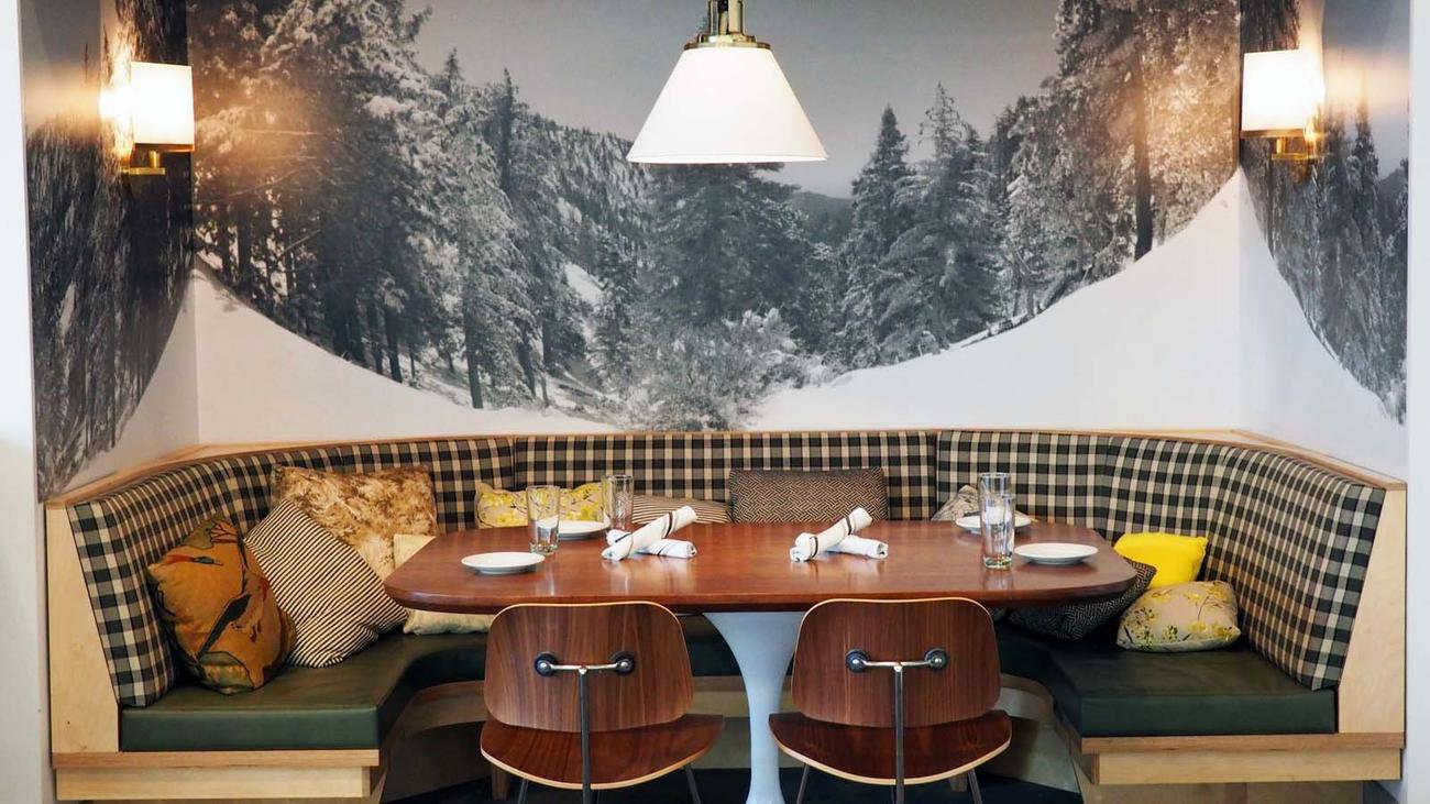 Vegan restaurant Little Pine by Moby in Los Angeles