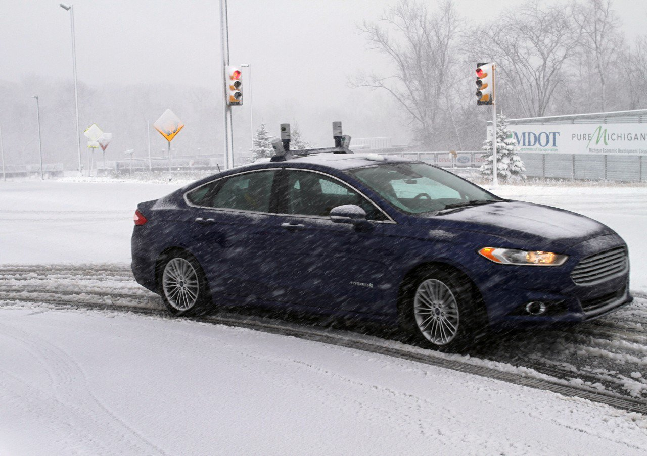 Ford is conducting the first tests of their autonomous ...