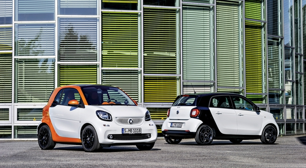 Smart is going electric