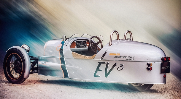 Electric Morgan EV3 is arriving to Geneva