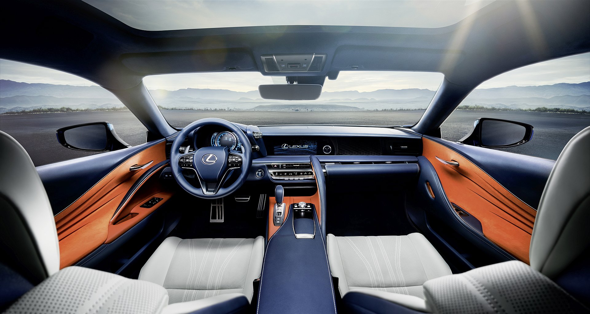 Lexus Lc 500h The Luxurious Hybrid Coupe Driving Plugin