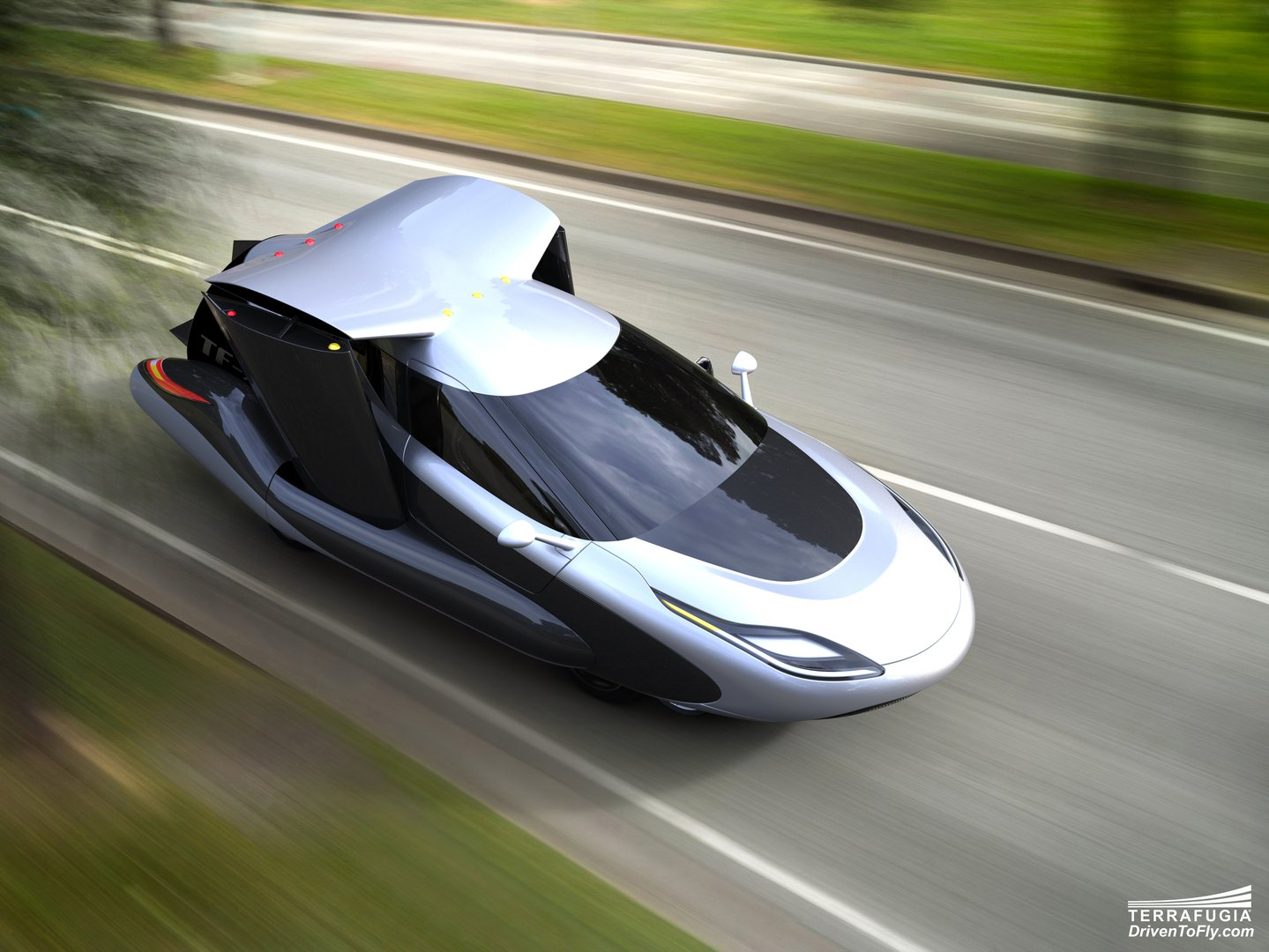 Terrafugia S Flying Car For All Of Us To Take Over The Skies In