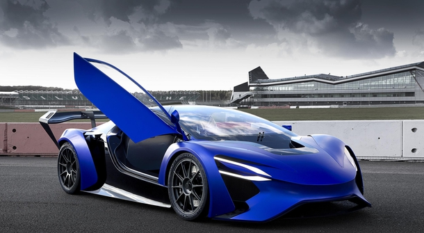 The first supersports concept cars from China
