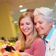 Quickly in and out - buy groceries just by using your smartphone!