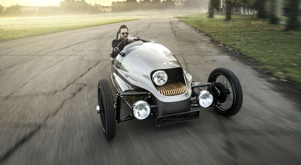 The final pre-production Morgan EV3, the video-star