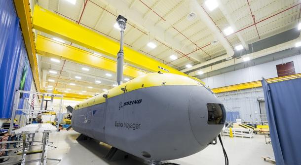 Meet Echo Voyager - Boeing's largest unmanned submarine