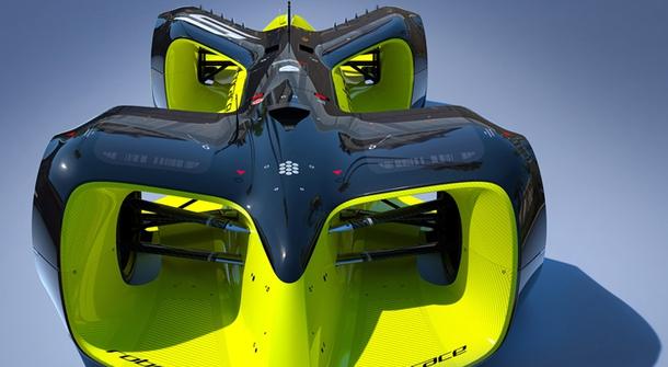 Roborace car revealed