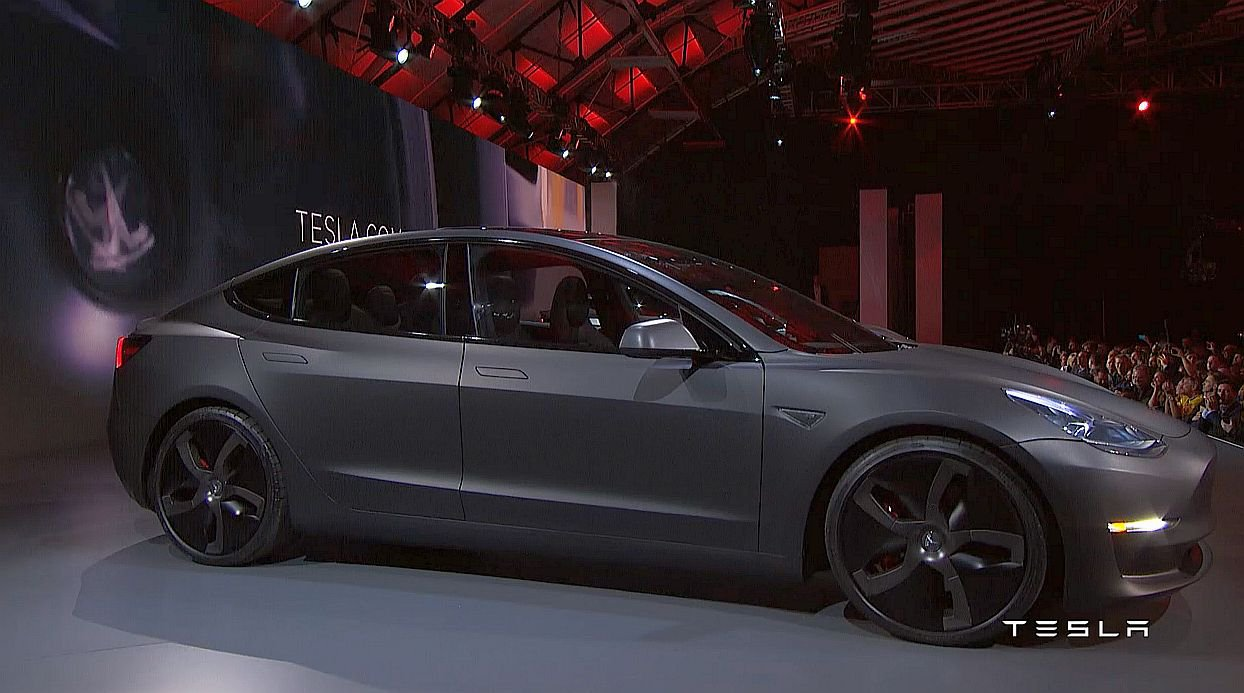 Tesla Model 3 Unveiled Driving Plugin Magazine Com