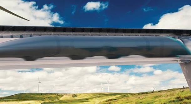 World's first Hyperloop connecting Vienna and Bratislava
