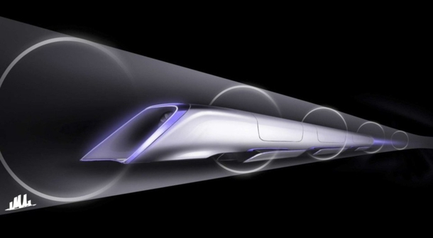 The development of Hyperloop test track in the US