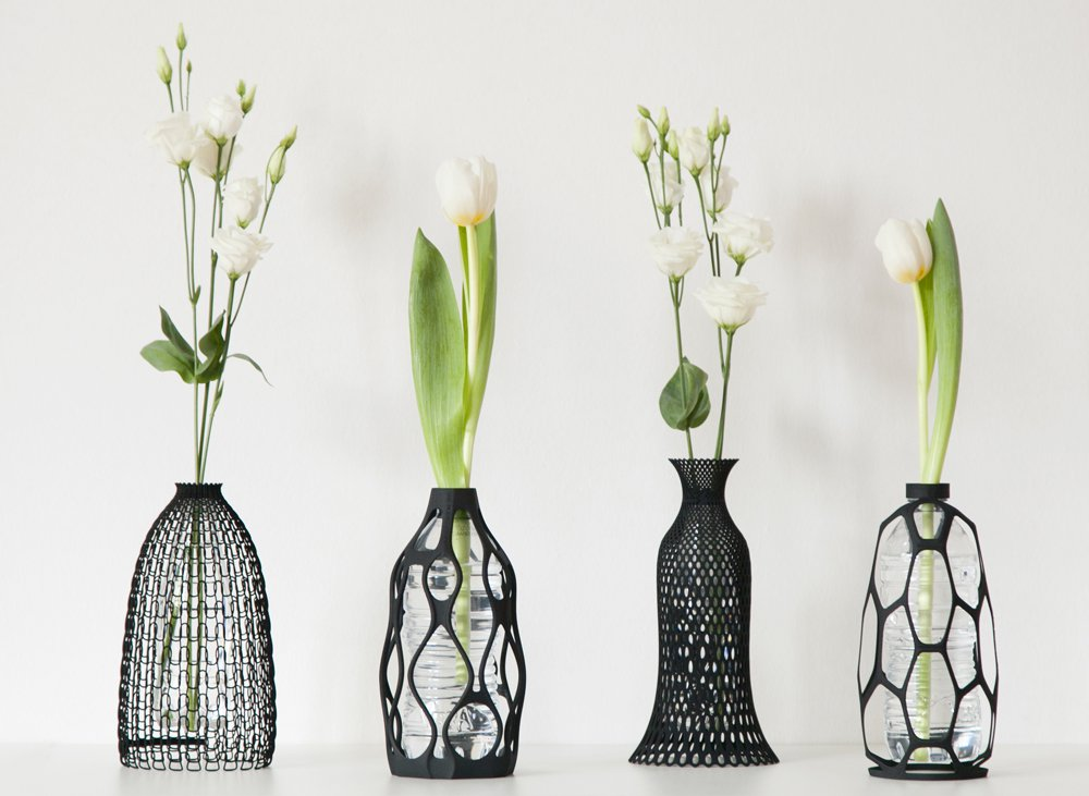 Make Plastic Bottles Useful With 3d Printed Vases Living Plugin