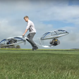YouTube sensation Colin Furze and his DIY Hoverbike
