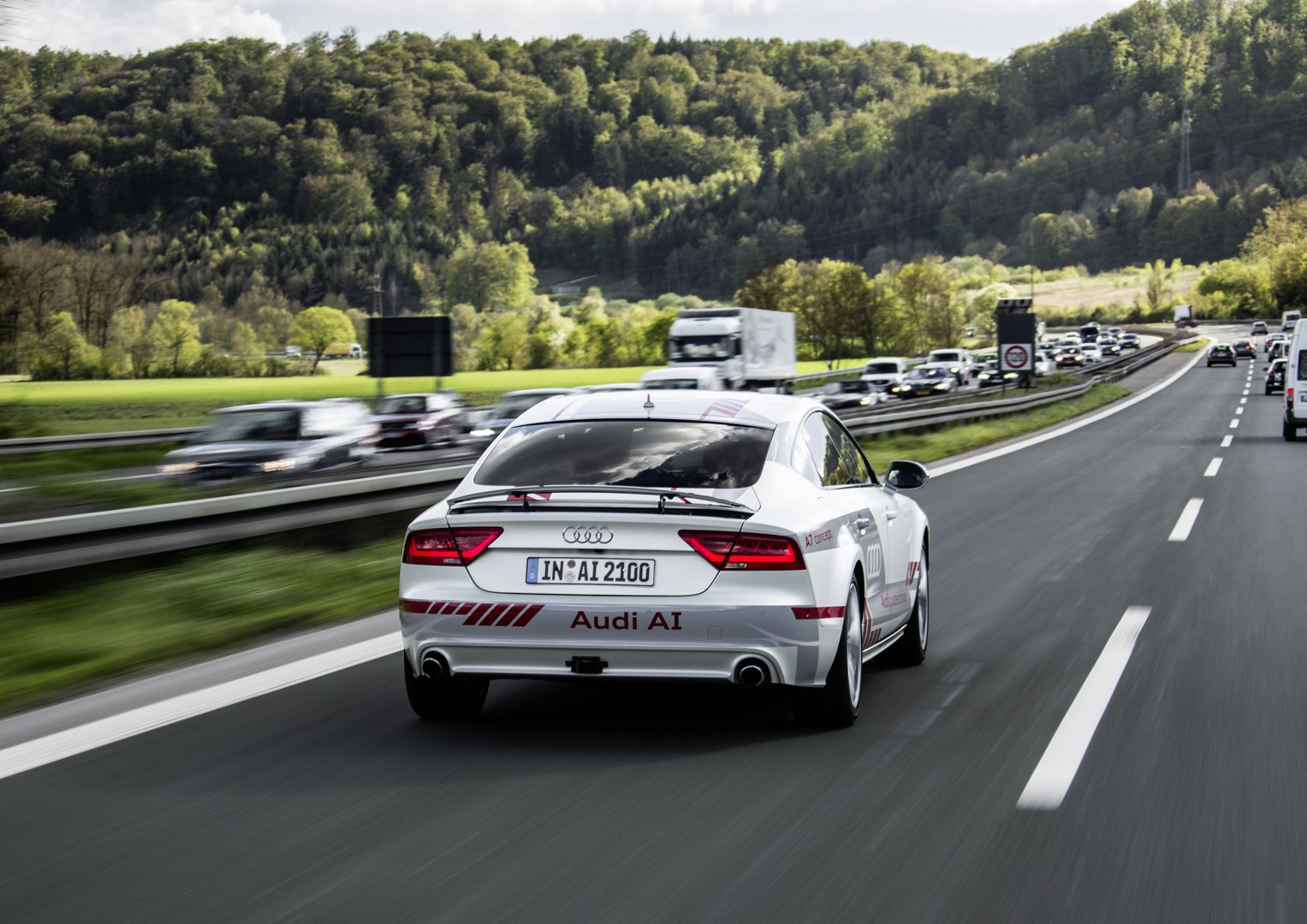 Audi Piloted Driving >> Evolution Of The Piloted Audi Is Continuing Apace Driving Plugin