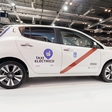 Madrid soon to operate world's largest electric taxi fleet of Nissan Leafs