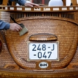A very nifty-looking wooden VW Beetle from Bosnia