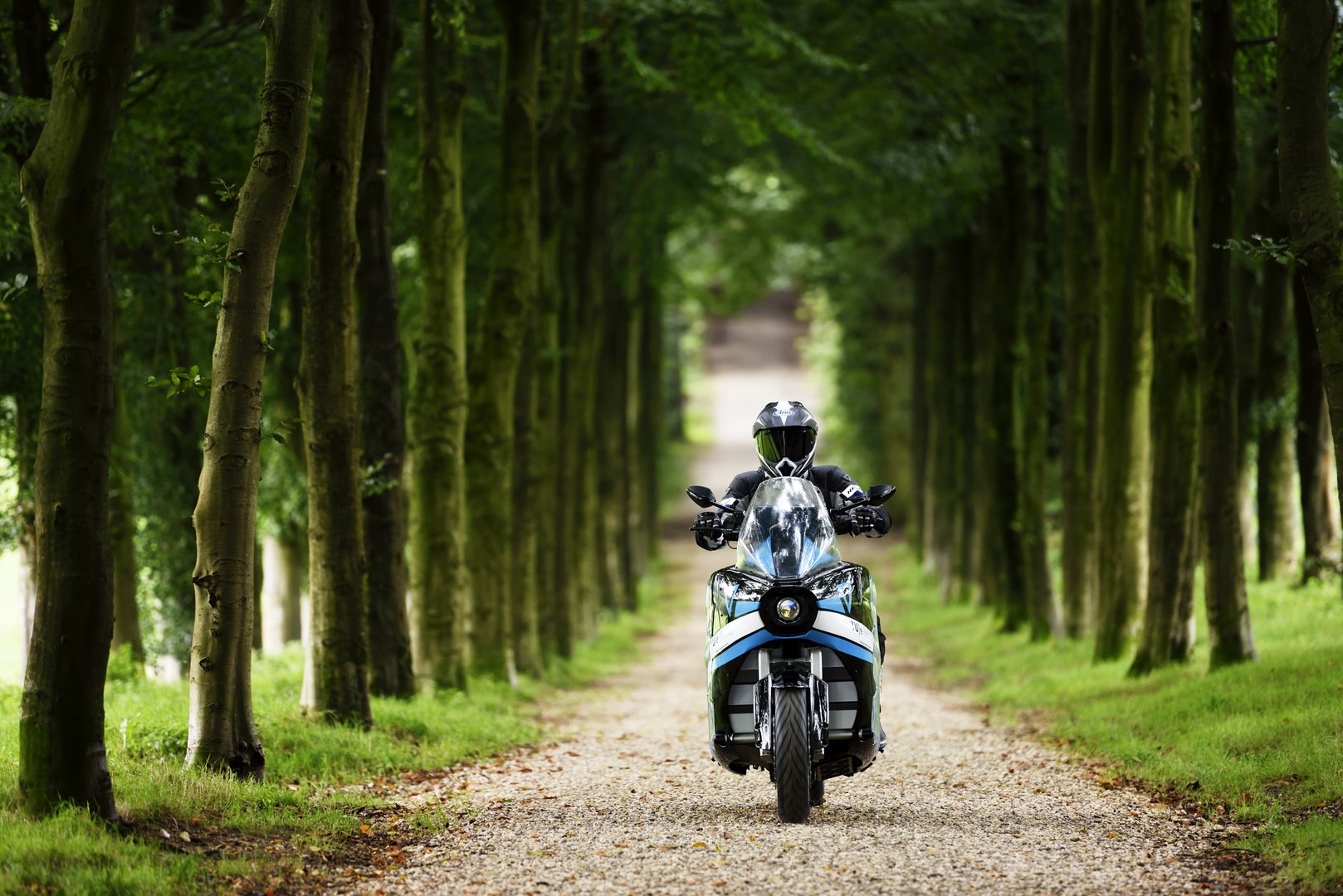 Around the world in 80 days with an electric motorcycle