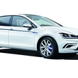 The revamped VW E-Golf with new technologies and extended range