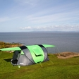 Cinch: pop-up solar power tent