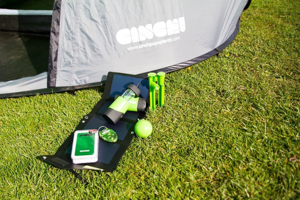 Cinch Pop Up Solar Power Tent Living Plugin Magazine Com
