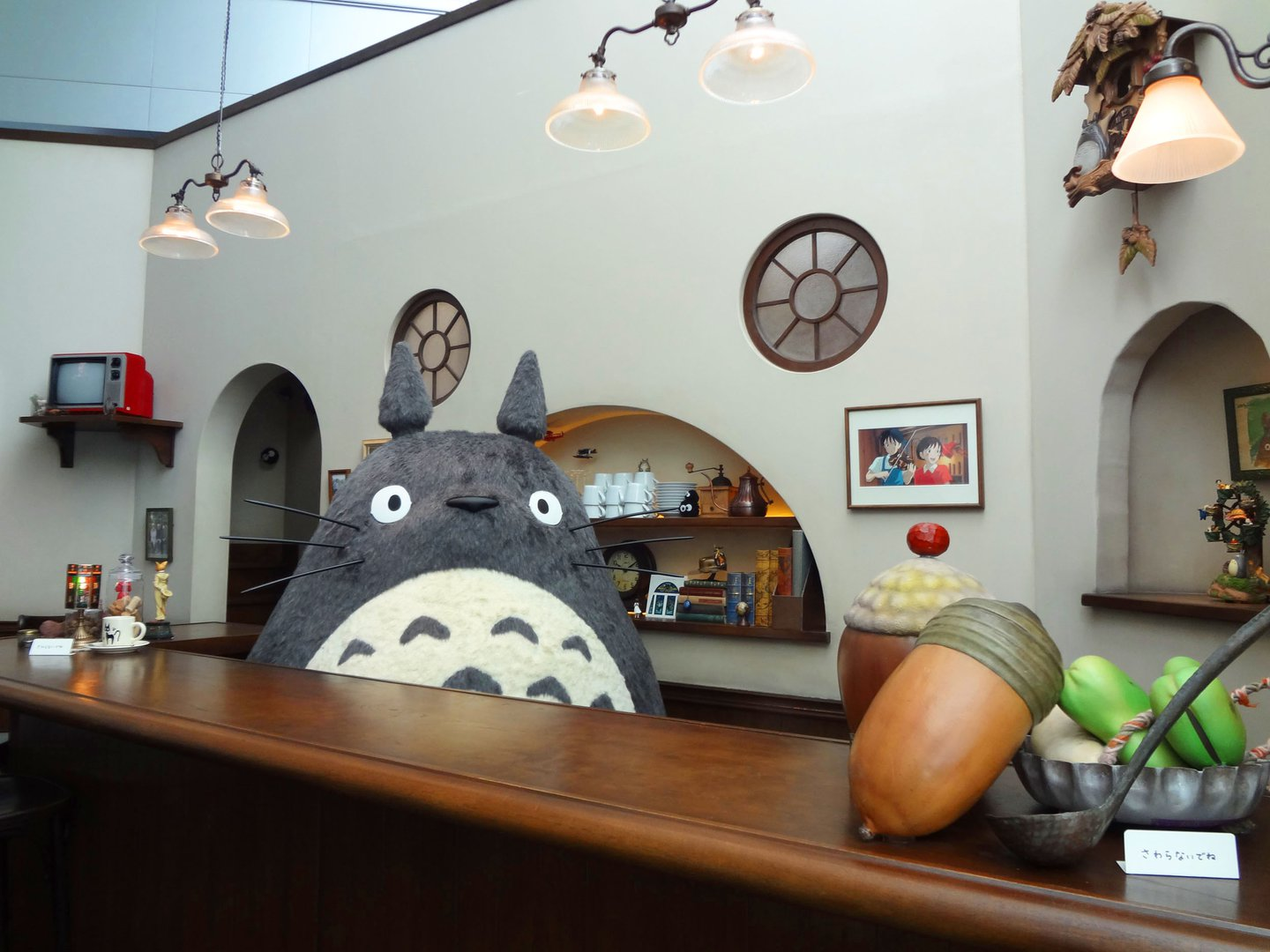 Castle In The Sky Ship Floating At The Studio Ghibli